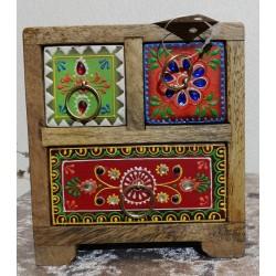 Mini Cabinet artisanal.