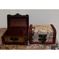 Mini boîtes en bois
