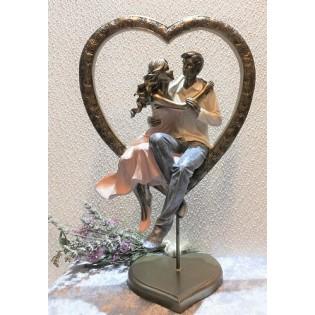 Couples dans le coeur